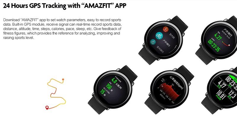 ساعت هوشمند AMAZFIT GPS Sports شیائومی
