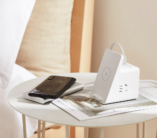 Vertical Wireless Charging Socket