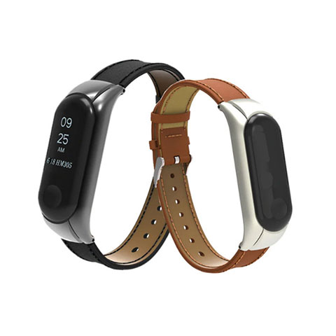 Mi Band 3 Leather Strap