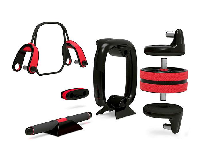 دستگاه ورزشی TRX شیائومی مدل Xiaomi Move It Smart Fitness Set MVSB0001